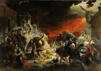 Karl Briullov - The Last Day of Pompeii (c.1830)